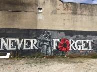 War memorial street art, Sheffield