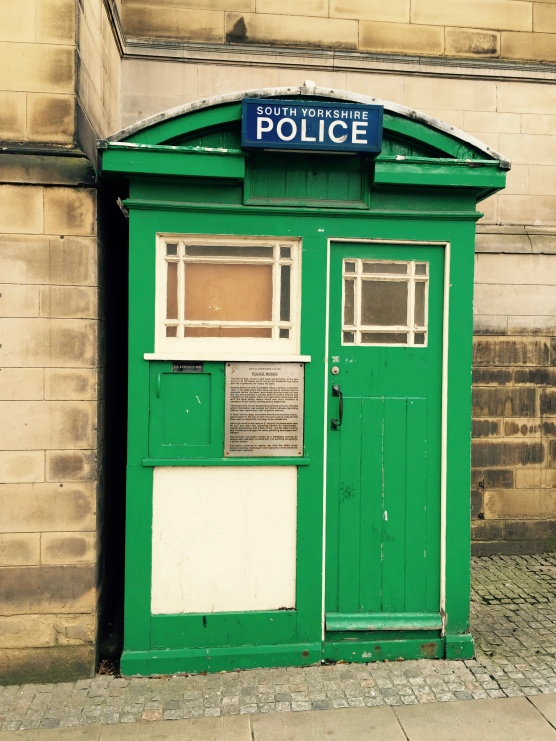 Old Police Box, Sheffield City Centre